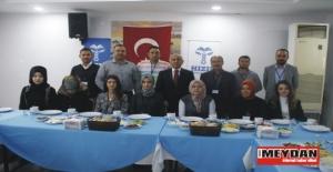 Hızır Koleji idareci ve yöneticileri yemekte kaynaştı