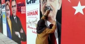 Erzincanlı Teyze Mala zarar vermekten gözaltına alındı