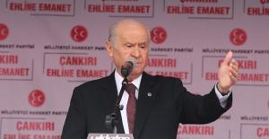 MHP Lideri Bahçeli Aksaray'da