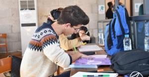 M.Nuri Yazıcı Kitap Konağına öğrencilerden yoğun ilgi