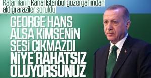 Katarlıların İstanbul'da aldığı araziler Erdoğan'a soruldu