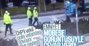 Polisten vatandaşa darp iddiası