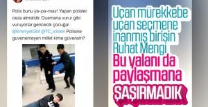 Ruhat Mengi, Çin'deki video ile Türk polisini suçladı