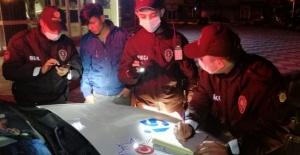 Aksaray'da uyarıları hiçe sayan 21 gence 8 bin 232 TL para cezası