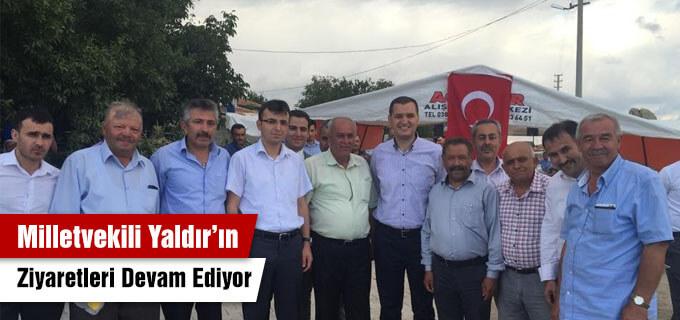 Milletvekili Yaldır'ın ziyaretleri devam ediyor