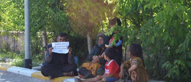 Suriye'liler, Aksaray'da Dileniyorlar