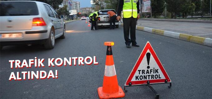 Trafik kontrol altında!