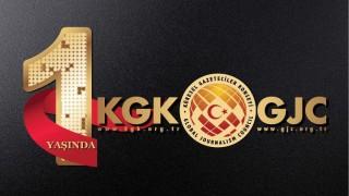 KGK, 1'inci kuruluş yıldönümü mesajı