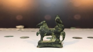 Roma dönemine ait tarihi eserler ele geçirildi