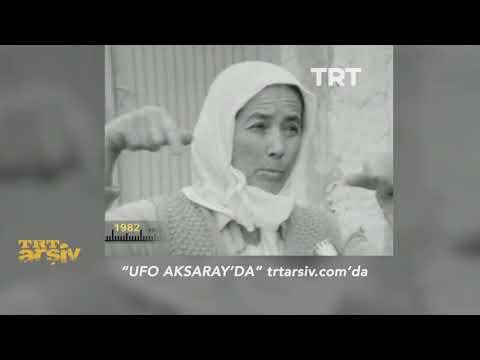 Aksaray'da Görülen Ufo